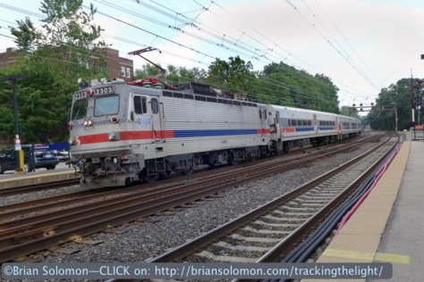 SEPTA's Great Valley Flyer doesn't serve Overbrook. Lumix LX7.
