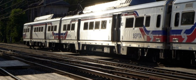 Tracking the Light Daily Post: SEPTA at Bryn Mawr.