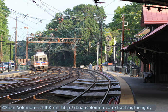 SEPTA at Overbrook.