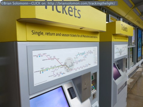 Ticket machines on the platforms make paying for your journey relatively easy. Lumix LX7 photo.