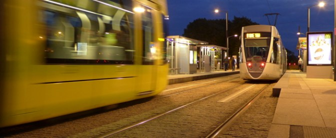 Modern Trams in an Historic City