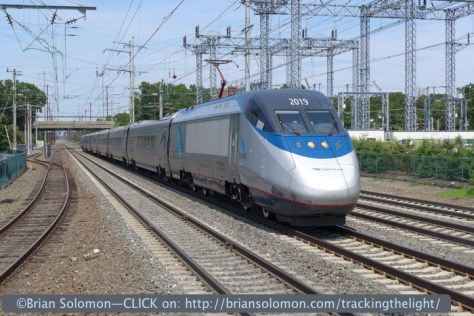 The LX7 has excellent reaction time; I stopped the Acela Express at speed at Princeton Junction. The train was moving faster than 125mph. LX7 photo.