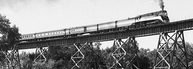 Daily Post: Southern Pacific 4449 at Redding, California.