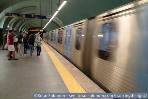 Lisbon Metro. Lumix LX3 photo.