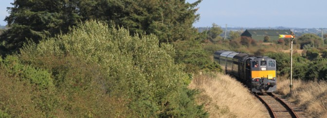 Tracking the Light Special Post: Emerald Isle Express on the South Wexford Line