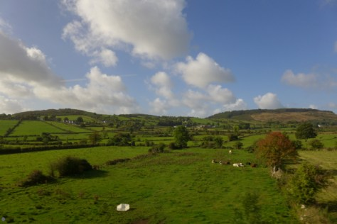 Northern Ireland is blessed with some wonderful scenery. Lumix LX7 view from the Enterprise.