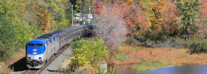 Amtrak's Lake Shore Limited—Sunday October 12, 2014.