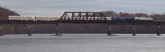 Amtrak Special at Windsor, Connecticut—November 12, 2014