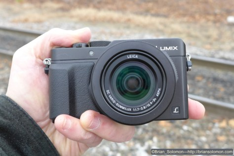The new Panasonic Lumix LX100. Exposed using my Lumix LX7. I played around by comparing the two cameras.