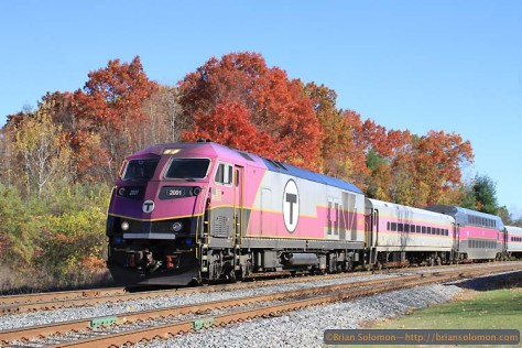 MBTA 2001 works west at the Willows. Exposed with a Canon EOS 7D fitted with 40mm pancake lens. F5.0 1/1000 at ISO 200.