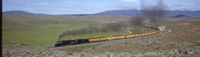 Union Pacific Challenger in Oregon.