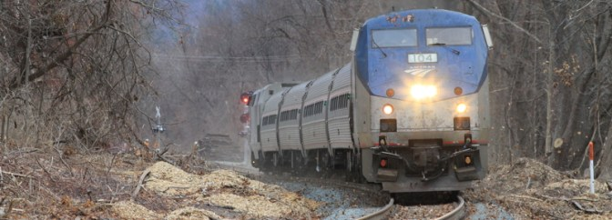 Tracking the Light SPECIAL POST: Knowledge Corridor Test Train—December 19, 2014