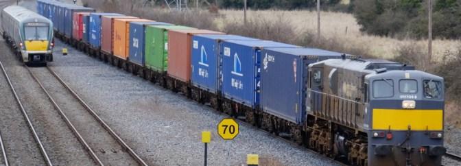 Fuji X-T1 and Irish Rail's IWT Liner.