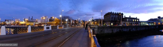 Dublin Panorama and the World's Longest Tram