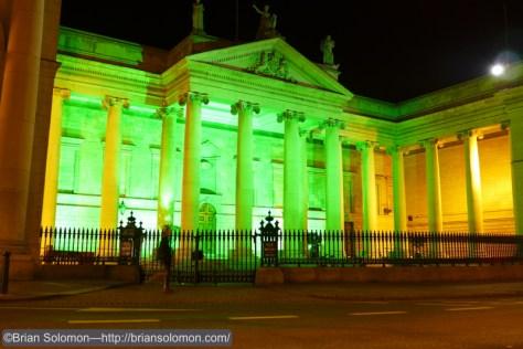 Bank of Ireland on College Green, Dublin.  Lumix LX-7 photo.