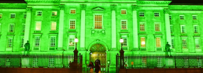 Dublin's Gone Green for St. Patrick's Day!