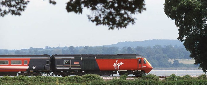 Virgin along the Exe.