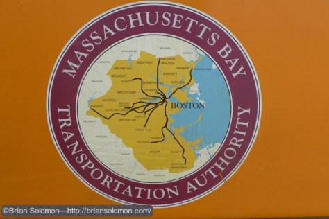 Lumix LX7 Photo of MBTA map.
