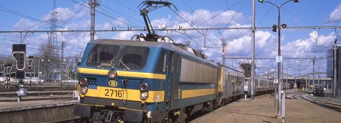 SNCB at Schaerbeek—Film and Digital.