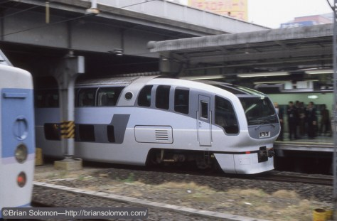 Bozo View at Shinjuku Station, Tokyo on April 23, 1997.