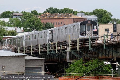 The 'L-Train' emerges from the depths.