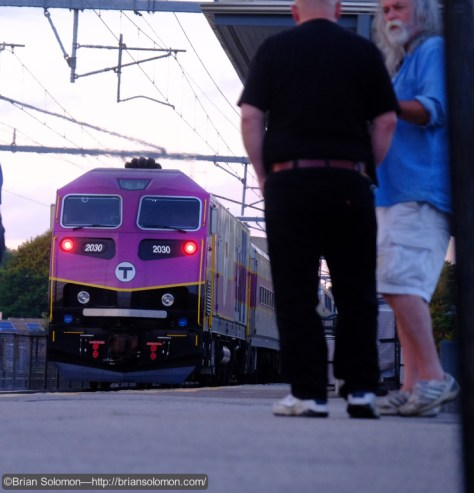 Our group has been watching trains on Friday evenings since the 1980s (perhaps earlier). This day we opted for Mansfield, rather than Palmer. Something new, something different. Exposed with a Fujifilm X-T1 digital camera.