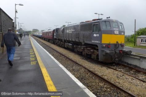 Old 078 in the rain at Claremorris.
