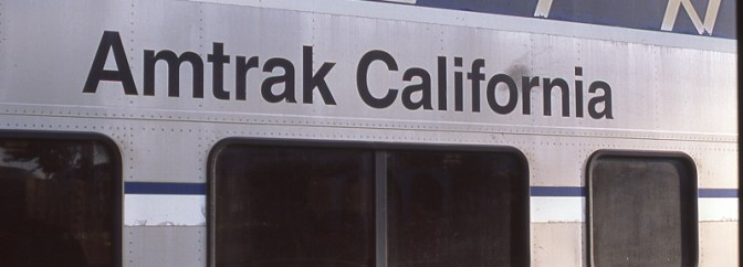 Classic Chrome File: Amtrak California Car Detail