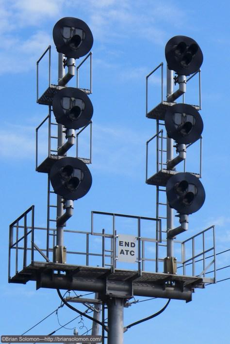 Signals at Suffern.