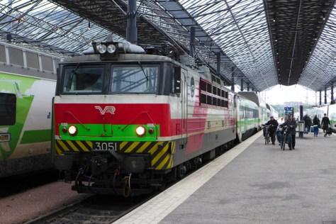 VR_class Sr-1 Electric at Helsinki.