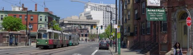 Huntington Avenue, Boston, May 2015.