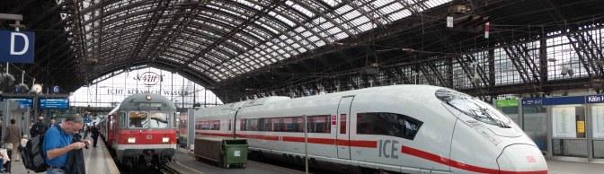 ICE at Köln Hbf—September 2, 2015