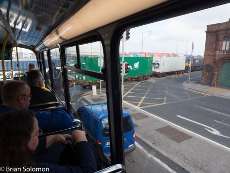 View from Dublin Bus. 3:15 Pm September 30, 2015.