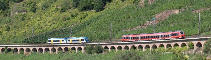 Hanging Viaduct—Bullay—Eight Views.