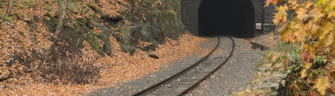 Hoosac Tunnel on Misty Evening—October 2015.