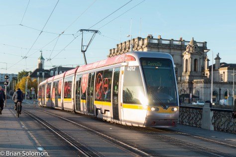 Virgin LUAS at Heuston Station.
