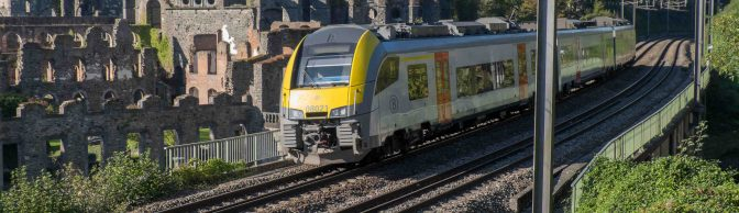 SNCB at Villers Abbey, 2 October 2015