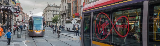 Tracking the Light EXTRA: VIRGIN LUAS on Dublin's Streets.