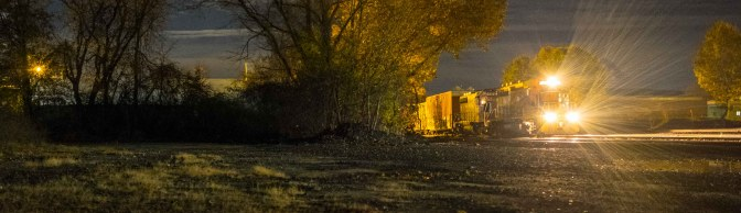 Railway Night Photography: Autumn Style—Tips and Suggestions