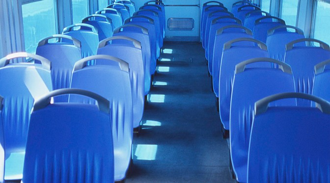 Too Blue? Interior View; Serbian EMU.