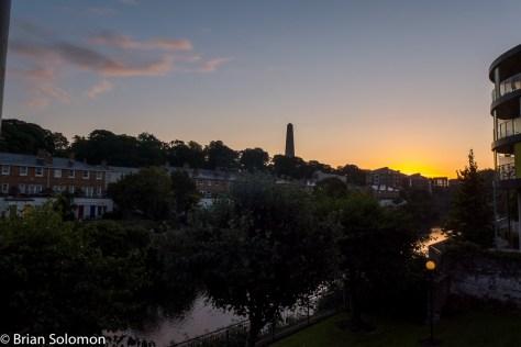 Sunrise, Dublin. Lumix LX7 photo.