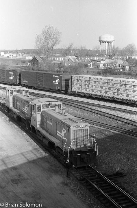 Conrail Niagara Falls NY April 1989 Brian Solomon 227837