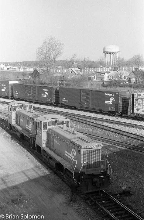 Conrail Niagara Falls NY April 1989 Brian Solomon 227838