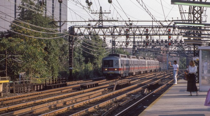 Metro-North, South Norwalk, Connecticut—September 7, 1989.