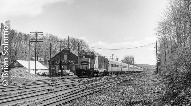 Amtrak Montrealer Detours! 30 Years Ago Today—March 15, 1986.