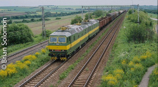 Electric Freight at Kalsa, Slovakia.