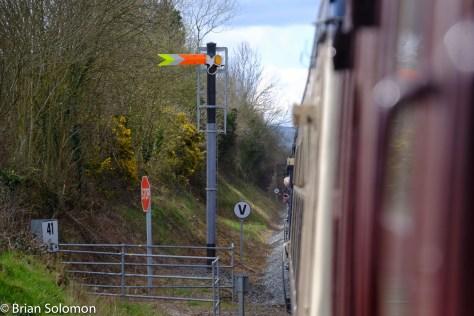 Fixed semaphore near Birdhill, on the Nenagh Branch.