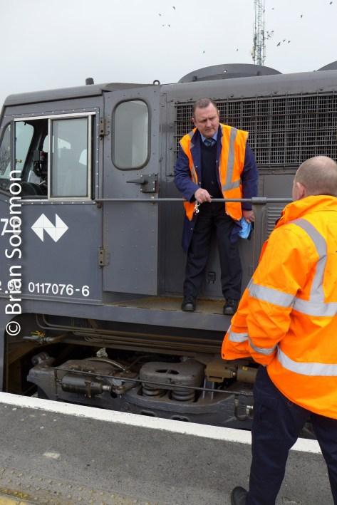 Irish Rail staff are key to operations.