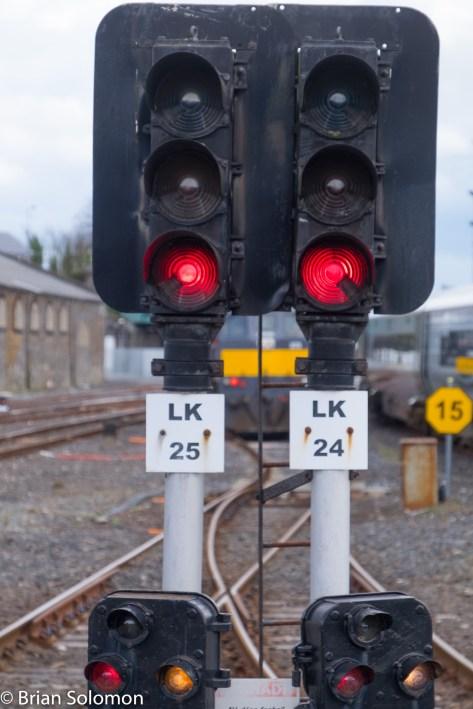 Signals at Limerick.