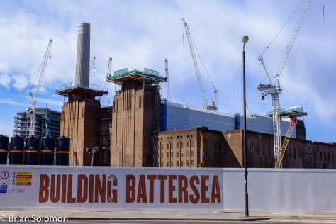 The old Battersea Park Generating Station is being repurposed.